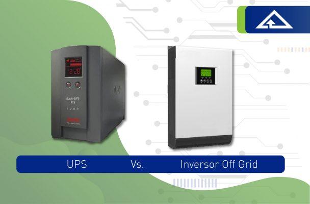 ups vs inversor off grid