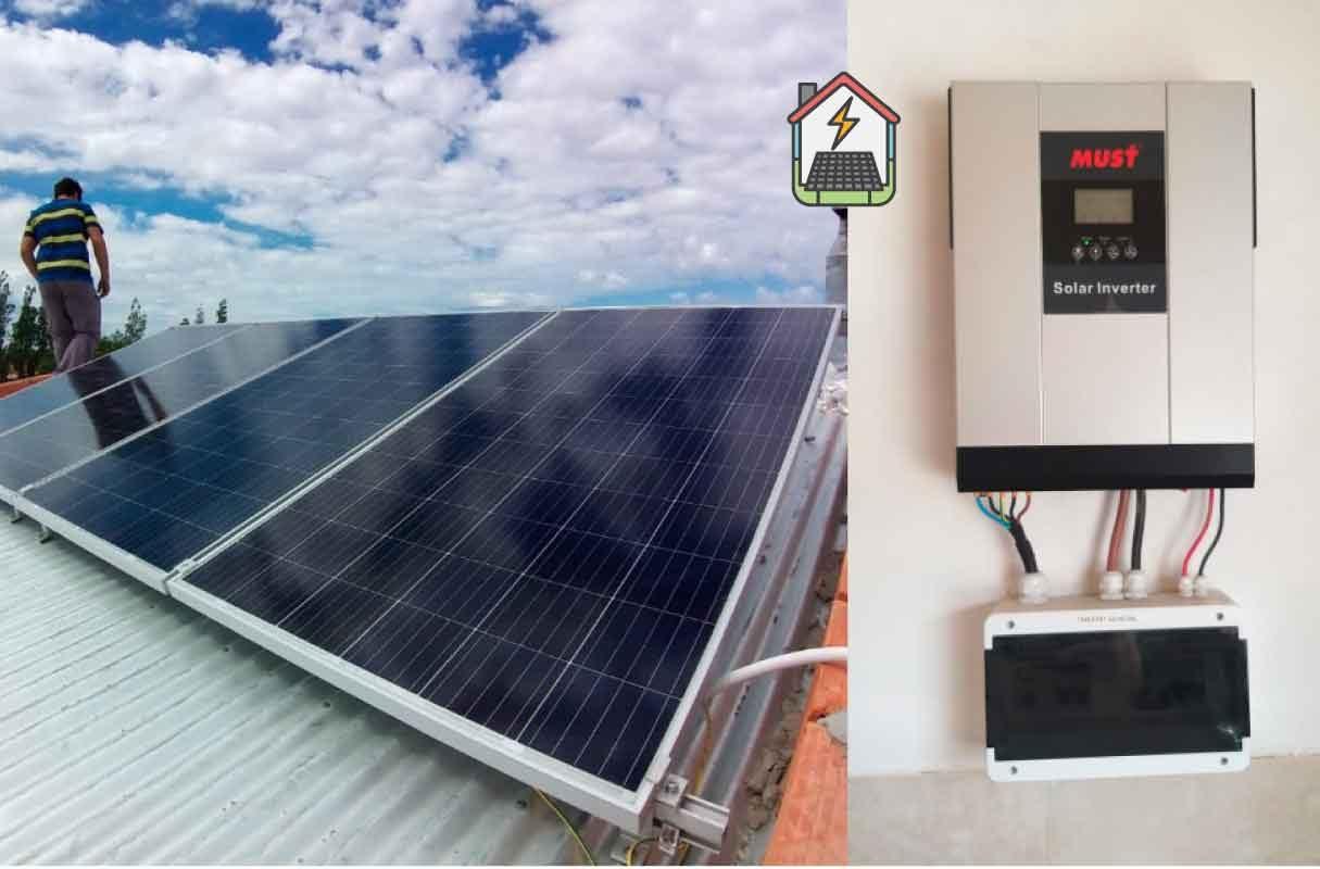 Instalación Kit Solar 1