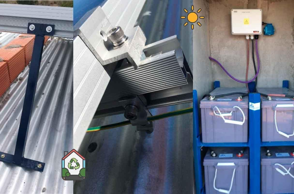 Instalación Kit Solar 2